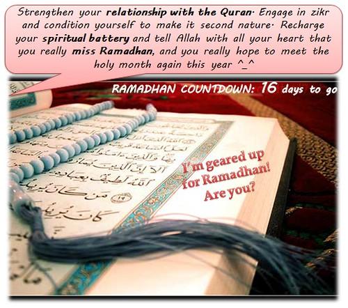 Detik Ramadhan 1432H