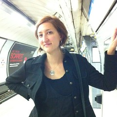 Jessica in the underground.