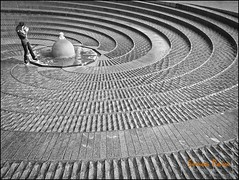 Spiral (Paicey) Tags: urban bw texture pen photoshop sydney australia olympus lightroom darlingharboursydney