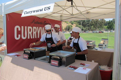 LA Street Food Fest: Currywurst