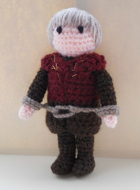 Game Of Thrones Amigurumi Pattern Free : Tyrion Lannister Amigurumi Game of Thrones KnitHacker