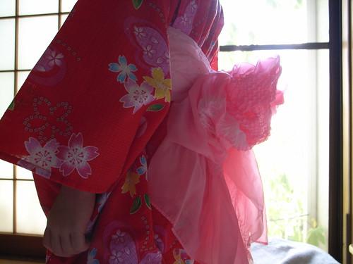 Obi of yukata