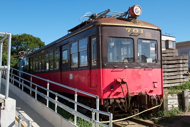 銚子電鉄 デハ701