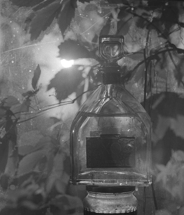 Still life with bottle / Натюрморт с бутылкой (1)