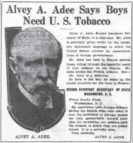 Diplomat & Cyclist & U.S. Tobacco