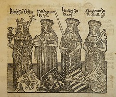 Illustration of the four lay electors of the H...