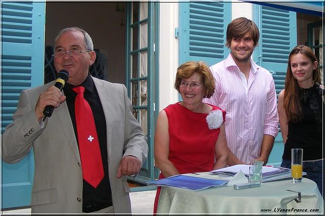Consul de Suisse à Lyon Michel Failletaz