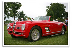 1949 6C 2500 (bogray) Tags: car vintage italian lexington ky alfaromeo sportscar 6c2500 aroc keenelandconcoursdelegance alfasinthebluegrass