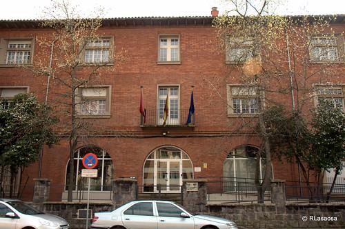 Edificios de oficinas en la calle González Tablas de Pamplona.