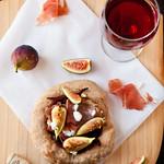 Fig & Prosciutto Pizzettes