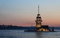 Kz Kulesi (Sinan Doan) Tags: kule skdar turkey trkiye gnbatm sunset istanbulgnbatm nikon istanbul sinandoan kzkulesi maidenstower istanbulfotoraflar istanbulgezilecekyerler istanbulgezi istanbulhakkndaherey istanbulugeziyorum   istanbultravel    estanbul