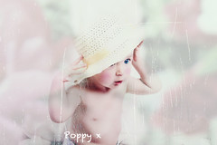 re- edit of my beautiful niece (FayeElizabeth_1950) Tags: portrait baby vintage tectures