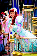 Ariel (abelle2) Tags: ariel princess disney parade disneyworld wdw waltdisneyworld magickingdom disneyprincess thelittlemermaid disneyparade celebrateadreamcometrueparade