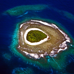 Ha'apai Atoll Aerial - Kingdom of Tonga, Polynesia - david schweitzer