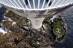 Skerryvore Lighthouse - a vertigo inducing view from the top of Scotland's tallest lighthouse! (iancowe) Tags: lighthouse tower rock alan scotland balcony vertigo scottish atlantic stevenson tiree northernlighthouseboard nlb skerryvore lighthousetrek wbnawgbsct