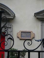Photo of Camille d'Hostun de la Baume grey plaque