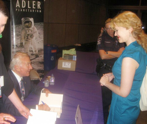 Heather Meeting Buzz Aldrin