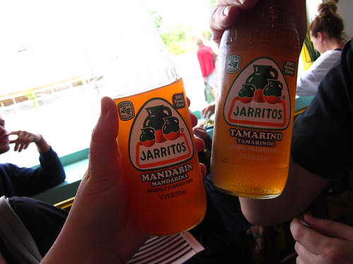Authentic Jarritos Mexican sodas