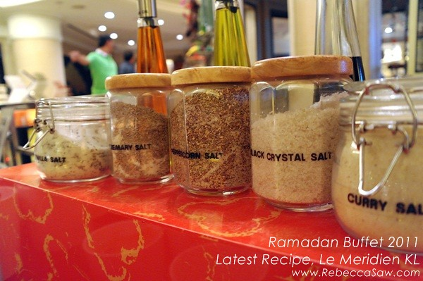Ramadan Buffet - Latest Recipe, LE Meridien-01
