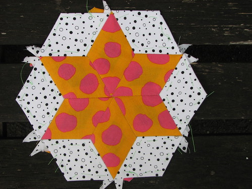 first hexagon star by Viv J M