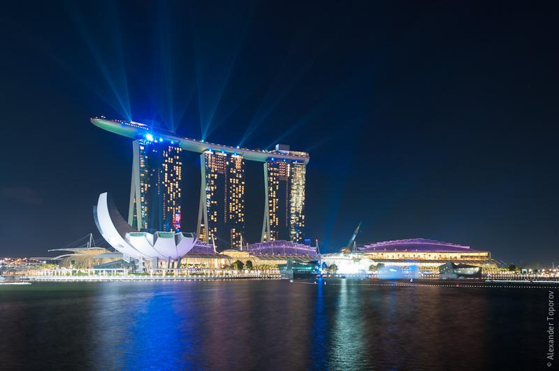 Singapore Marina Laser Show