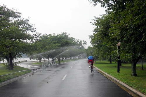 Sprinklers at Hains Point