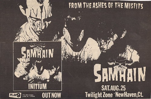 08-25-84 Samhain @ Twilight Zone, New Haven, CT