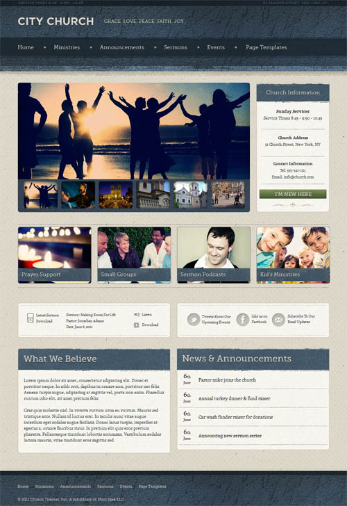 ezekiel-wordpress-theme