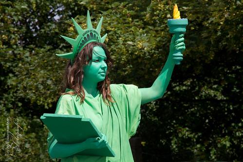 Miss Liberty - die Fackel der Freiheit