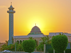 Mosque Mqams (Yousef Malallah) Tags: light sunset sun church nature beautiful night sunrise joseph war day peace christ time god spirit sony muslim it mosque christian holy moses mohammed angels jewish shia kuwait psalms say mal gospel hdr torah  issa allah  quran   yousef   a700           hdrx  abigfave   anawesomeshot  malallah  kinest    rumaithiya   mqams