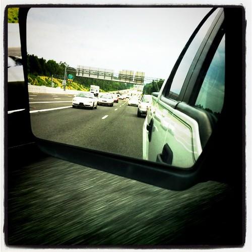 Monday: yucky traffic