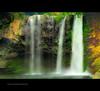Cheonjiyeon Falls, Jeju-do, Korea (re-worked) (© utathyabhadra) Tags: lake green fall nature landscape island waterfall stream 100v10f korea 328 explore 500v50f jeju jejudo cheju chejudo seogwipo sogwipo jaeju jaejudo cheonjiyeonfalls thisphotoisyatbsgroupwinner pagesubfotografymyphotographictraits167302703347457
