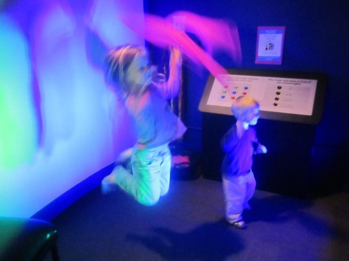 Dancing in Bellingham Children's Museum