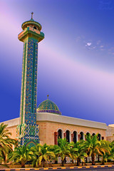 Mosque Mqams 2 (Yousef Malallah) Tags: sunset nature night sunrise day sony it mosque and kuwait say hdr   yousef   a700   hdrx anawesomeshot colorphotoaward  malallah    mqams