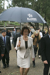PM visit to the University of Canberra (University of Canberra) Tags: uc universityofcanberra primeministerjuliagillard chancellorjohnmackay ministerchrisevans vicechancellorstephenparker
