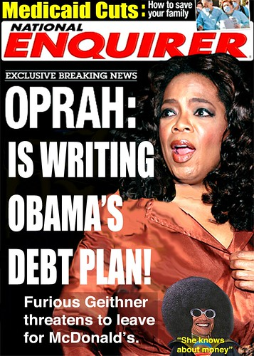 BREAKING NEWS: OPRAH DEBT CEILING CONNECTION by Colonel Flick