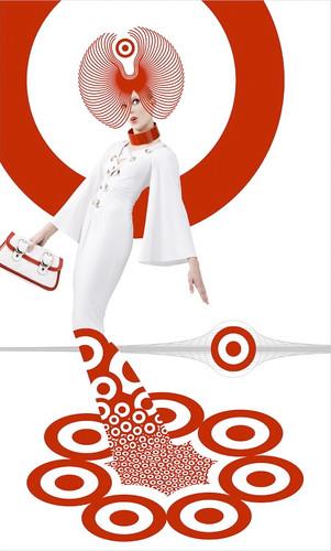 target purse...Kyle Lane design/Illustration