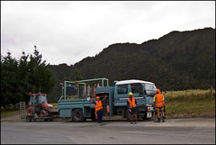 Roadwork on State Highway 1