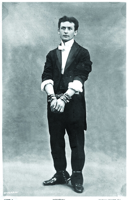 Houdini in Chains, 1903