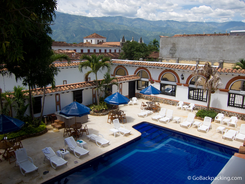 Hotel Patio del Castellano in Santa Fe de Antioquia, Colombia