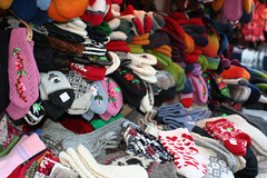 Mittens and socks (http://visittallinn.ee/eng) Tags: christmas winter square tallinn estonia market clothes souvenir townhall oldtown handycraft krtkbarsepp