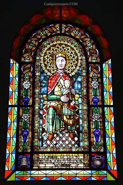 Arte religiosamente colorido