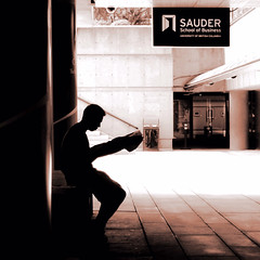 Reading Newspaper @ Robson Square (. Jianwei .) Tags: boy silhouette vancouver reading streetlife ubc 365 robsonsquare  sauder a500 jianwei kemily bestcapturesaoi elitegalleryaoi mygearandme mygearandmepremium mygearandmebronze mygearandmesilver artistoftheyearlevel3