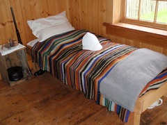Hudson Bay Blanket (Mr. Happy Face - Peace :)) Tags: days pioneer
