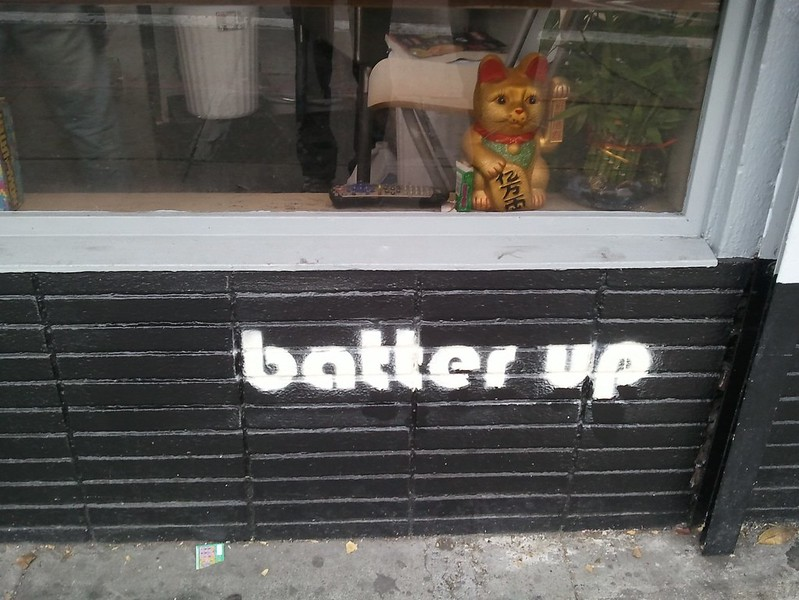 Batter Up SF - front signage
