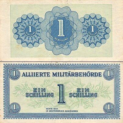 1 Šiling Rakúsko 1944, Pick 103