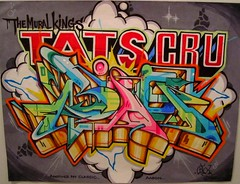 Bio Tats Cru (tatscruinc) Tags: streetart graffiti bio markers blackbook nicer wildstyle tatscru bg183 totem2 themuralkings markersonpaper