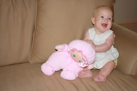 Annie Five Months 430