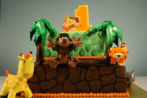Birthday Cakes Jungle Theme ~ Jan lewandowski cake birthday custom cake and birthday cakes