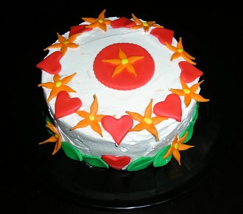Mom's birthday cake 1